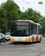 HEAG mobiBus MAN Lions City G am 16.05.15 in Darmstadt.