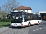 MAN NÜ 283 Lion´s City Ü - ABG TH 116 - Wagen 2116 - in Lucka, Busplatz - am 12-April 2016