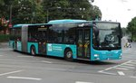 VGF/ICB (In der City Bus) MAN Lions City G 410 als SEV auf der Linie U5 am 27.07.16 in Frankfurt am Main