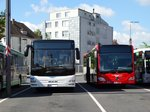 MAN Lions City und Mercedes Benz Citaro K am 01.08.16 in Aschaffenburg
