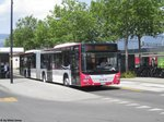 VD 1321 (MAN A23 Lion's City G) am 8.7.2016 beim Bhf. Yverdon-les-Bains
