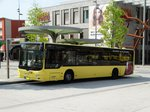 Stroh Bus MAN Lions City am 01.09.16 in Hanau Freiheitsplatz