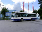 Ortsbus Leysin - Mercedes O 405 N  VD  398538 unterwegs in Leysin am 01.08.2016