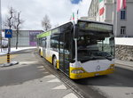 VBD - Mercedes Citaro Nr.6 GR 53473 unterwegs in Davos am 26.03.2016