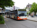 RBS - Mercedes Citaro Nr.39  BE 555039 unterwegs in der Stadt Bern am 24.05.2016