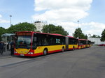 Zwei HSB Mercedes Benz Citaro 1 G am 20.06.16 in Hanau