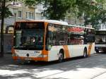RNV Mercedes Benz Citaro C1 Facelift 7542 am 11.07.15 in Ludwigshafen