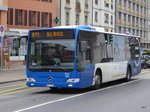 tpn - Mercedes Citaro  VD 1344 unterwegs in Nyon am 09.04.2016