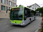 BLS Busland - Mercedes Citaro Nr.204  BE  737204 unterwegs in Burgdorf am 04.09.2016