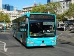 Autobus Sippel Mercedes Benz Citaro 1 Facelift Wagen 270 am 14.10.17 in Frankfurt am Main Hbf