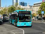 Autobus Sippel Mercedes Benz Citaro 1 Facelift Wagen 279am 14.10.17 in Frankfurt am Main Hbf