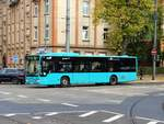 VGF/ICB Mercedes Benz Citaro 1 Facelift am 21.10.17 in Frankfurt am Main Eckenheim