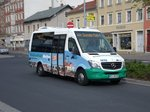 MB Sprinter City - MEI NV 286 - in Meißen, Busbahnhof - am 23-April 2016