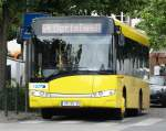 VilBus Solaris Urbino 8,9 am 11.06.14 in Bad Vilbel auf der 64