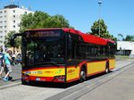 HSB Solaris Urbino 12 Wagen 17 am 23.06.16 in Hanau Hbf
