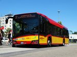 HSB Solaris Urbino 12 Wagen 17 Downside am 23.06.16 in Hanau Hbf