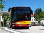 HSB Solaris Urbino 18 Wagen 81 Downside am 23.06.16 in Hanau Freiheitsplatz
