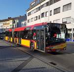 HSB Solaris Urbino 18 Wagen 81 am 16.03.17 in Hanau