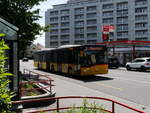 Postauto - Solaris  BE  26614 unterwegs in der Stad Biel am 12.05.2018