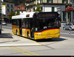 Postauto - Solaris  BE  610536 unterwegs in Interlaken am 25.07.2020