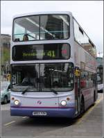 Doppeldeckerbus der First West of England am 02.06.2014 in Bristol.