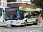 Mercedes Citaro III der VVR in Stralsund am 26.08.2018