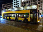 MAN Lion's City DD der BVG, Wagen '3400',  Berlin im August 2016.