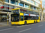 MAN Lion's City DD der BVG Wagen 3110, Berlin im November 2016.