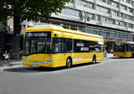 Solaris Urbino electric '1687' E-Testbus am Hardenbergplatz in Berlin im Juli 2017.