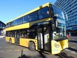 Scania Citywide LF DD der BVG in Berlin am 31.10.2018