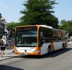 RNV Mercedes Benz Citaro C Facelift 8373 am 03.07.15 in Heidelberg
