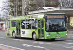 MAN Lion`s City der RVK, K-ZY878 in Euskirchen - 12.01.2017