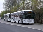 Göppel Go4City - MEI NV 190 + Göppel Go4CityT - MEI NV 191 - in Meißen, Busbahnhof - am 23-April 2016