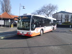 Mercedes-Benz O530LE am 04.02.2014 in Zittau am Bahnhof