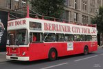 MAN Bus  Berliner City Tour  in Berlin, am 10.08.2016.