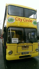 MAN SD200 von City Circle Sightseeing in Berlin am Alexanderplatz 02.01.2017