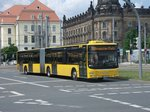 MAN NG 363 Lion´s City GL - DD VB 7211 - Wagen 454 211 - in Dresden, Pirnaischer Platz - am 4-Juni 2016