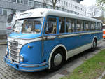 Ein IFA H6B/L im April 2017 in Dresden.