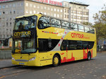 Volvo Doppeldecker Citytour Bus am 12.11.16 in Frankfurt am Main