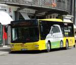 Stadtbus MAN Lions City am 04.08.15 in Kempten ZUM