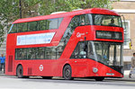 Moderner Doppelstöcker Bus, Go Ahead London.