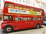 Der AEC Routemaster RM324 in London (Februar 2015)