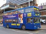 Magic-Bus linie 142 im April 2005 in Manchester City