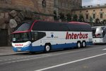 Neoplan, Fa. Interbus, am 20.9.2016 in Stockholm.