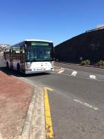 INTERCITY BUS-Scania Hispano unterwegs in Playa Blanca auf Lanzarote am 30.4.15