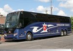 Prevost H3/45  Kingtom Coach . Aufgenommen am 26. Mai 2016 in New Orleans, Louisiana / USA.