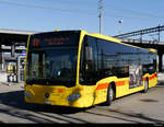 BLT - Mercedes Citaro  Nr.83  BL  161581 in Muttenz am 16.02.2019