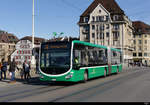 BVB - Mercedes Citaro Nr.7038 BS 99338 unterwegs in Basel am 22.02.2020
