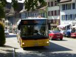 Postauto - MAN Lion`s City  SO  107724 in Aarburg am 06.09.2014