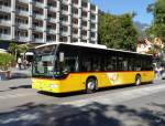 Postauto - Mercedes Citaro  BE  700281 unterwegs in Interlaken am 21.09.2015